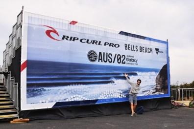 Bells Beach Rip Curl Pro Victoria Australia