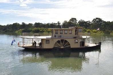 Murray River Boat Mildura Victoria Australia