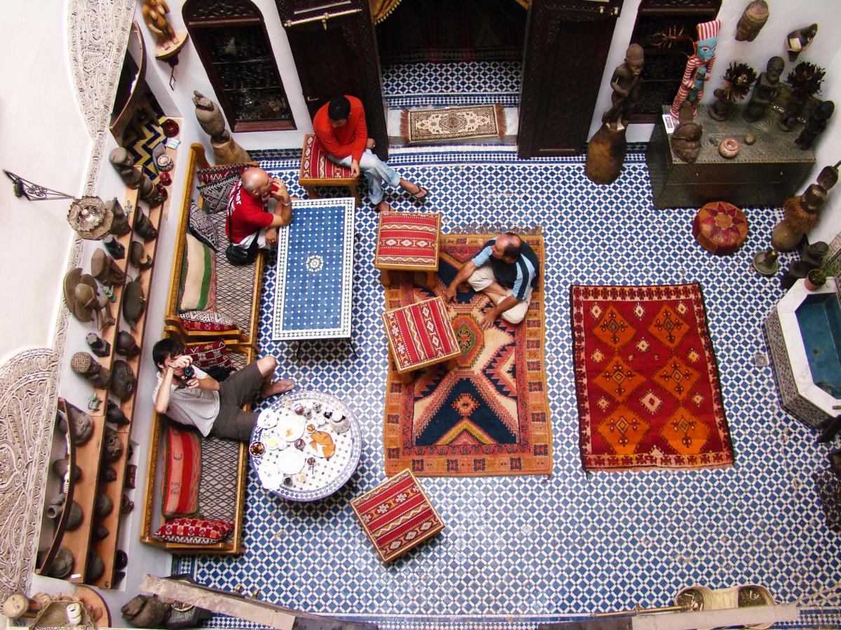 Morocco Fez Riad Breakfast