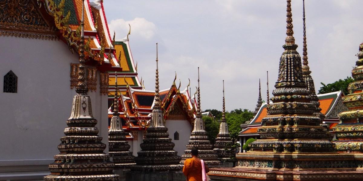 Thailand Bangkok Wat Pho Buddhist