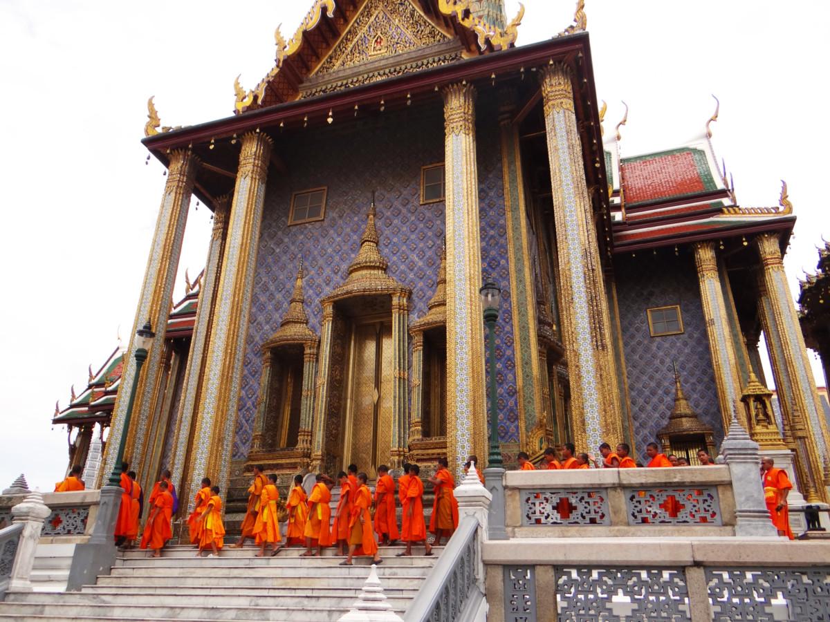 Thailand Bangkok Wat Phra Kaew Temple