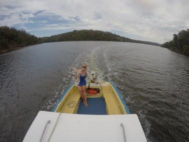 Boat Trip Mallacoota Victoria Australia