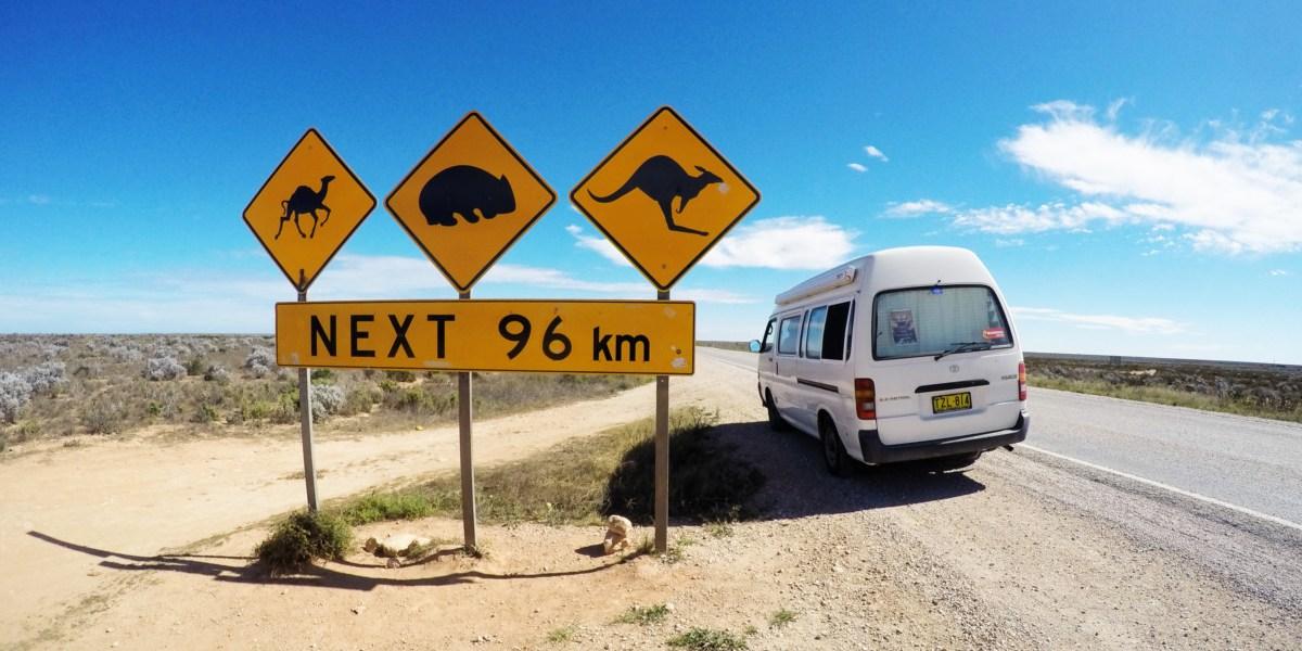 Australia Road Trip Campervan