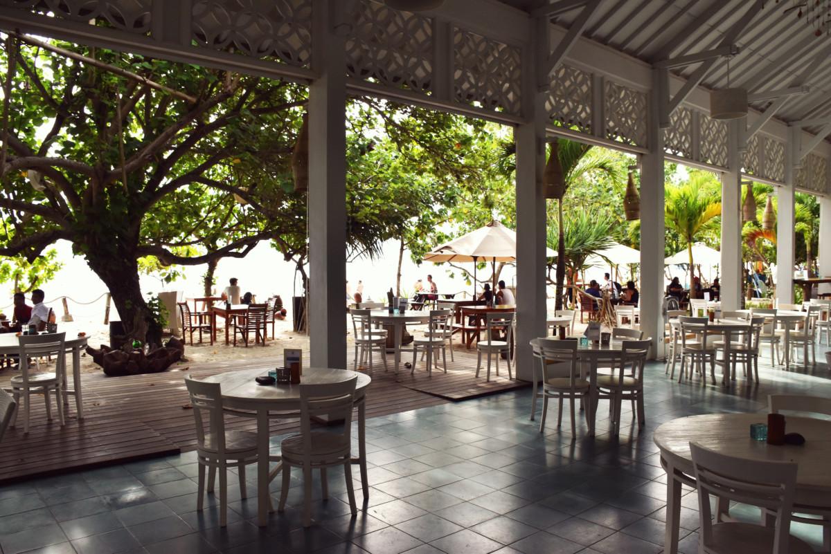 Laut Biru Restaurant Kuta Lombok Indonesia