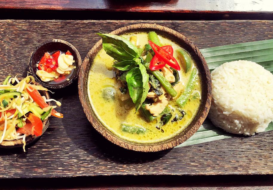 Bali, Ubud, Warung Siam