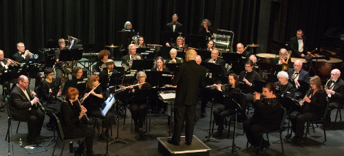The Cape Cod Concert Band contains winds, brass, and percussion, but no strings