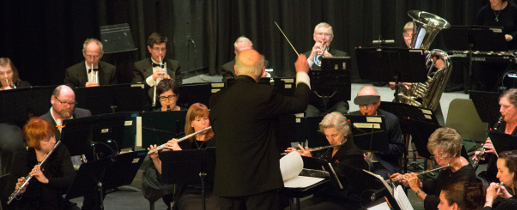 The Cape Cod Concert Band performs under the direction of John P. Hagon