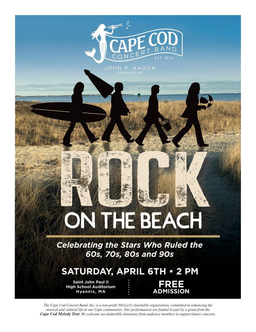 Rock on the Beach - Saturday, April 6, 2019 2:00 PM
