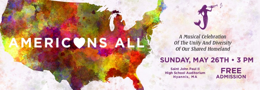Americans All - Sunday, May 26, 2019 3:00 PM