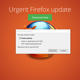 Malware – Critical Firefox Update!