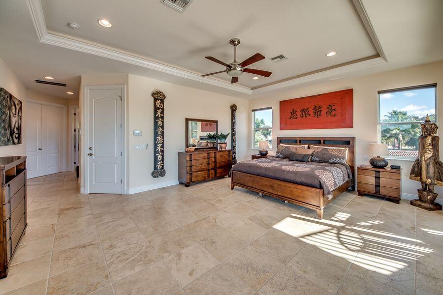Masterbedroom Villa Cape Coral