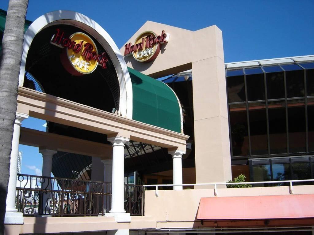Hard Rock Cafe in Miami Beach Tagesausflug von cape Coral