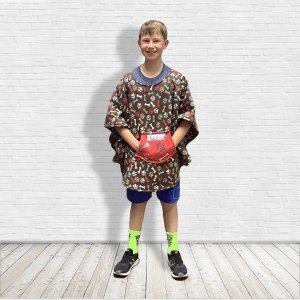 Child Hospital Gift Warm Fleece Poncho