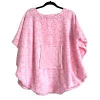 Hospital Gift girl's fleece poncho cape