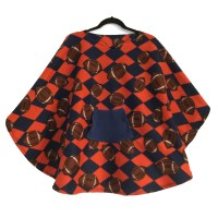 Hospital Gift Boy Fleece Poncho Cape