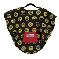 Toddler Hospital Gift Fleece Poncho Emojis