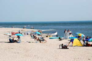Cape May Point beach