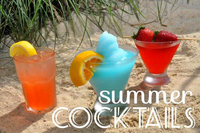 summer cocktail recipes, summer drink ideas