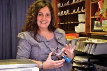 Postmaster Melissa Lomax