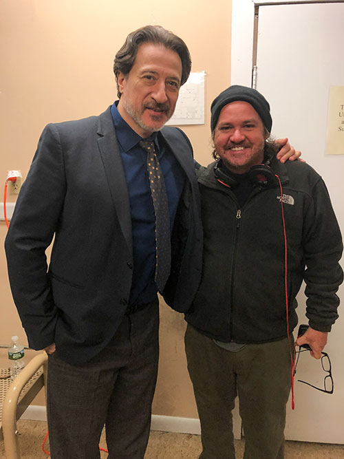 Federico Castelluccio and E.B. Hughes | Photo courtesy of E.B. Hughes