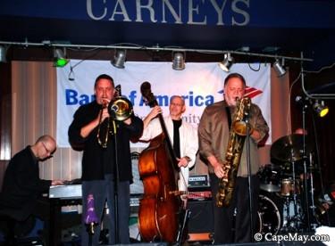 Denis DiBlasio with Jim McFalls at Carney's