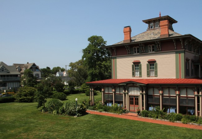 Northern view of the Southern Mansion