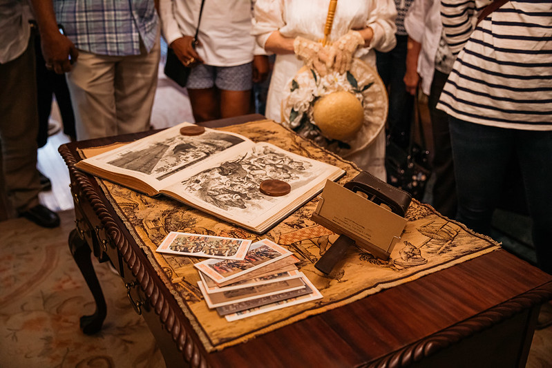 Artifacts in the Emlen Physick Estate