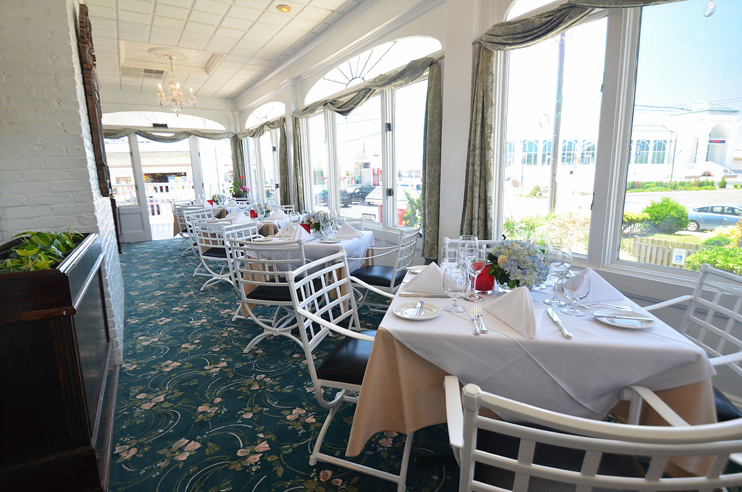 Union Park Dining Room, Cape May - Menu, Prices ...