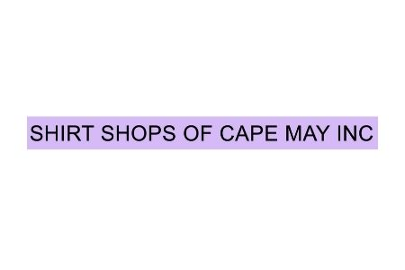 Shirt Shops Of Cape May