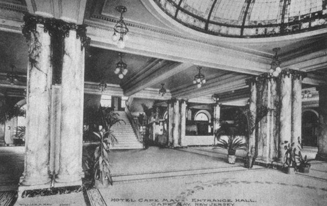 Hotel Cape May lobby. Photograph courtesy Don Pocher