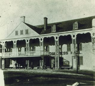 Detail of the original Congress Hall.