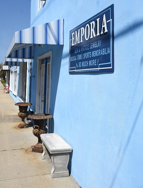 Exterior of the Antiques Emporia