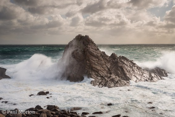 Storm at Sugarloaf Rock