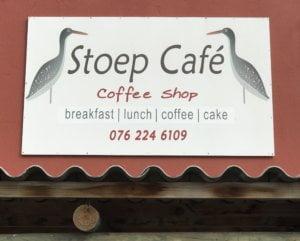 Stoep Cafe Sign
