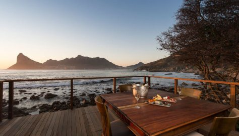 I don't think there is a restaurant with a better view than the one at Tintswalo Atlantic.
