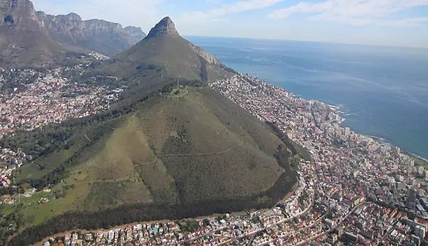 Image result for images of LIONS HEAD IN CAPE TOWN