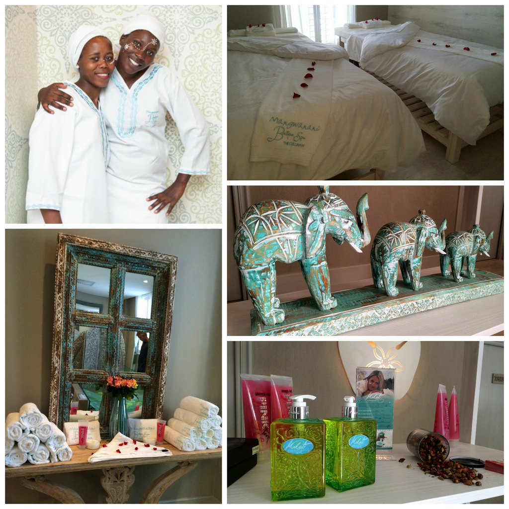 The all new mangwanani boutique spa at the cullinan cape for Spa uniform south africa