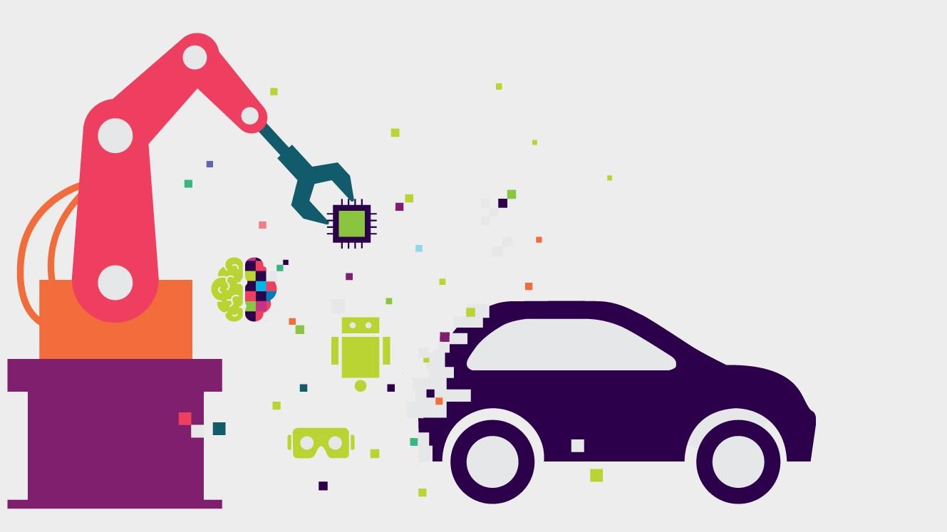 Inteligentne fabryki samochodów: producenci samochodów jako kierujący cyfrową rewolucją przemysłową