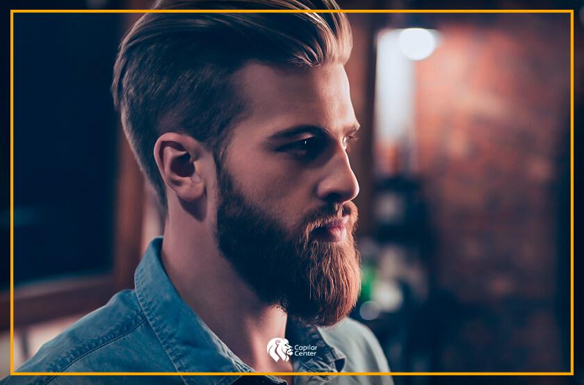 ¿Cómo es la barba cola de pato?