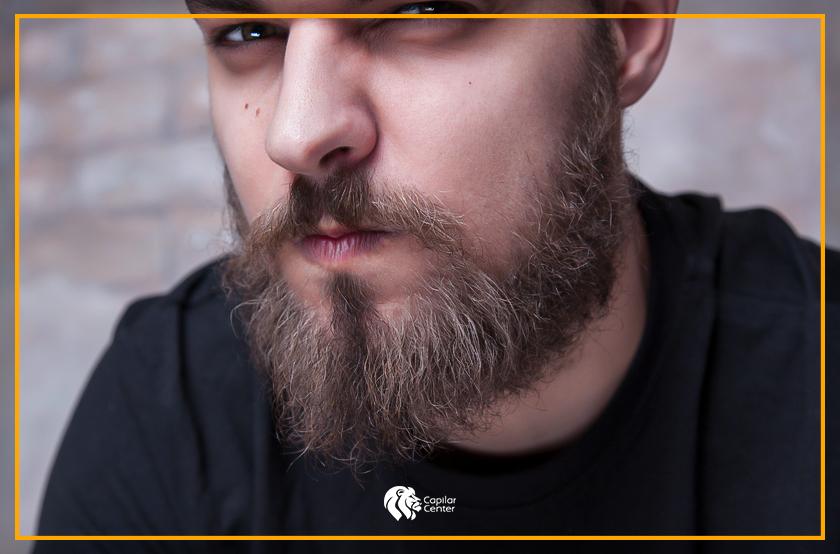 Tener barba poblada es la tendencia