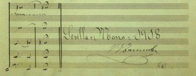 Firma Motetes al Stmo. Cristo de la Coronación (Gómez-Zarzuela)
