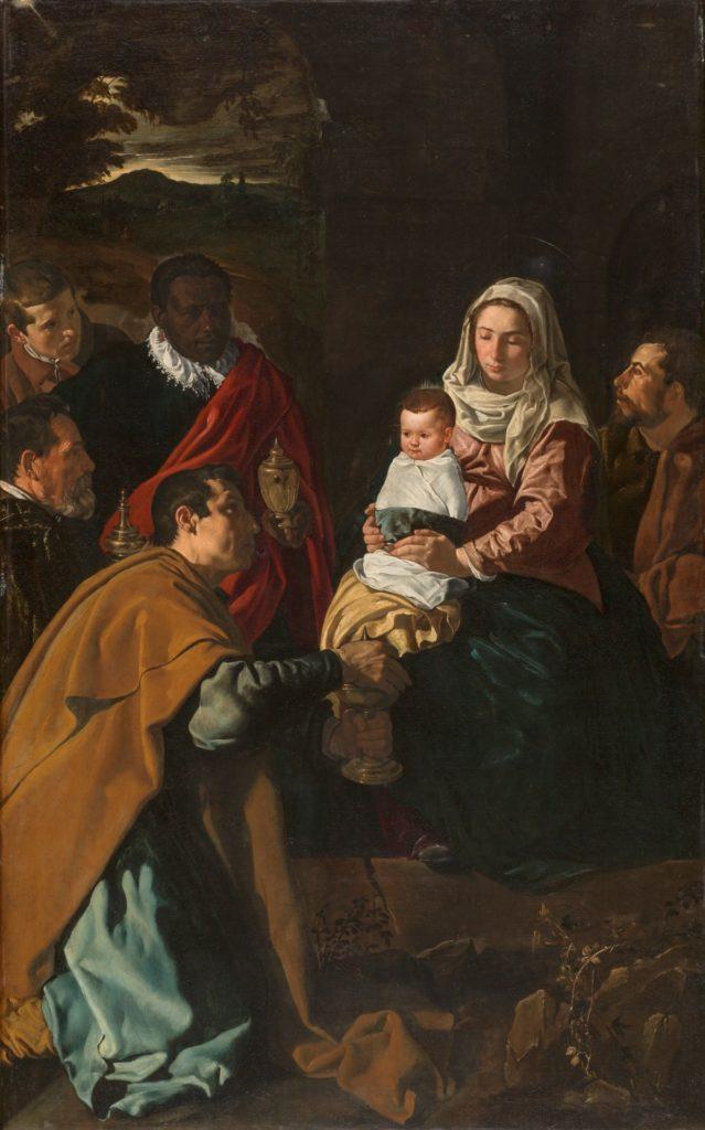 Velázquez. Adoración de los Reyes Magos (pintura)