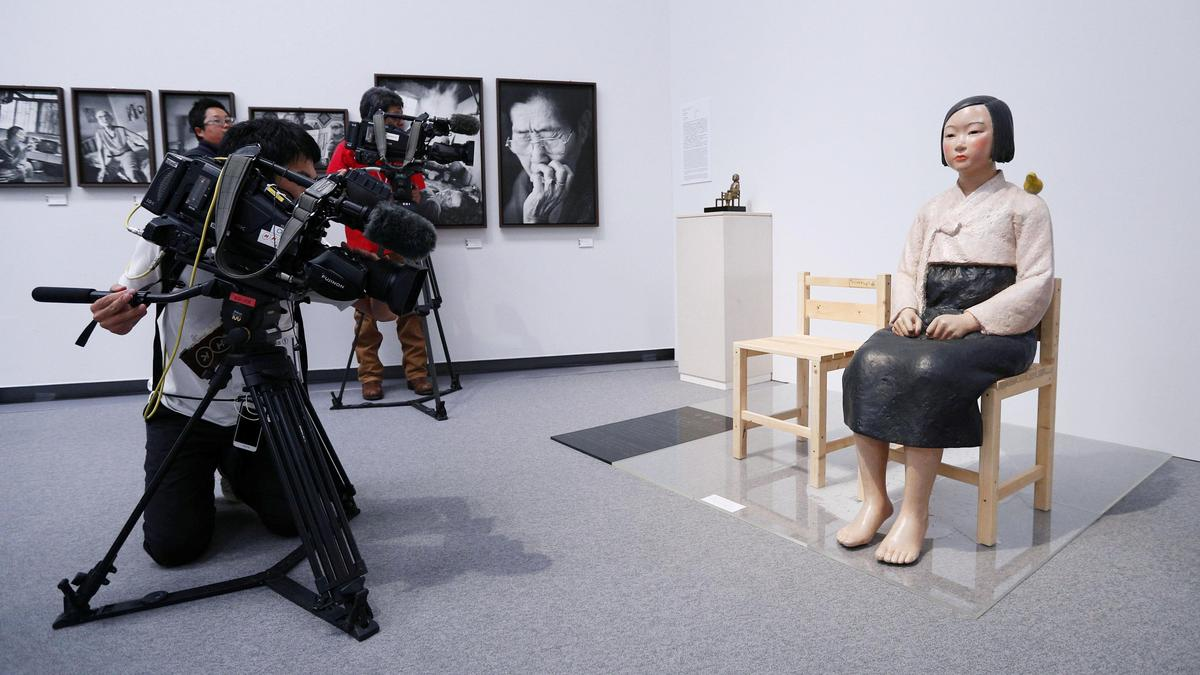 Statue of 'comfort women' pulled from Japan exhibit finds new home