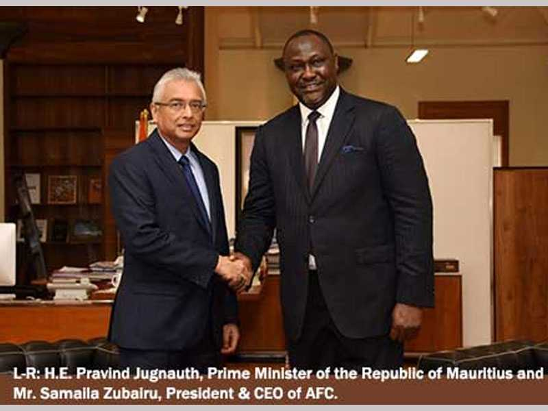 Republic of Mauritius becomes Africa Finance Corporation's 23rd Member State