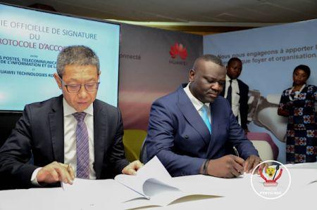 Huawei se veut « partenaire majeur » de la République Démocratique du Congo dans la réalisation de son plan numérique