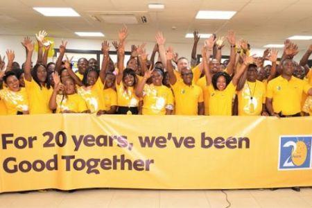 MTN Cameroun enregistre un chiffre d'affaires cumulé de 3400 milliards FCFA, en 20 ans d'activité