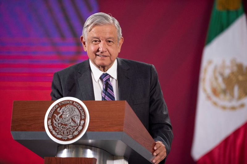 Mexican president calls on Russia, Saudi Arabia to end oil price war By Reuters