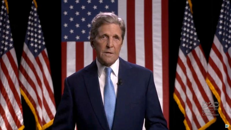 Biden names Kerry as U.S. climate envoy, emphasizing diplomacy's role in the fight By Reuters