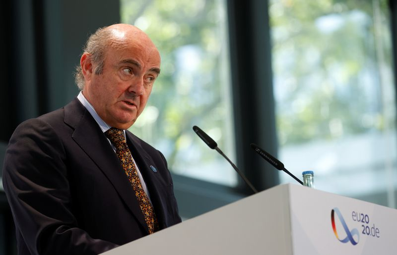 ECB sees lower inflation but growth outlook brighter: de Guindos By Reuters