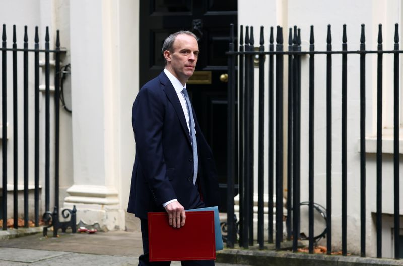 UK's Raab says Brexit talks in 'reasonable position' By Reuters